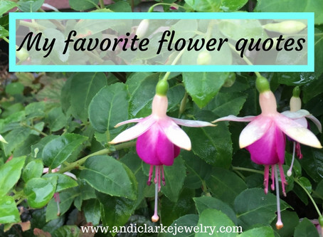 My favorite flower quotes