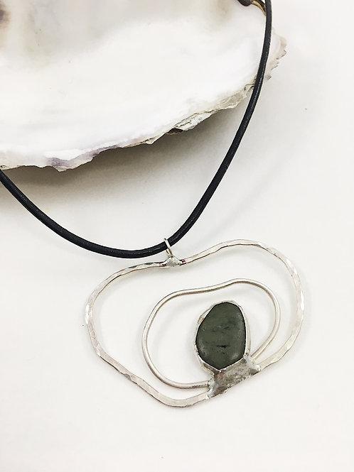 Nature Jewelry, pebble jewelry, handmade sterling silver jewelry, hand crafted jewelry, natural pebble pendant, nature jewelr