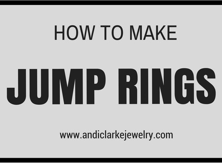 Making your own jump rings