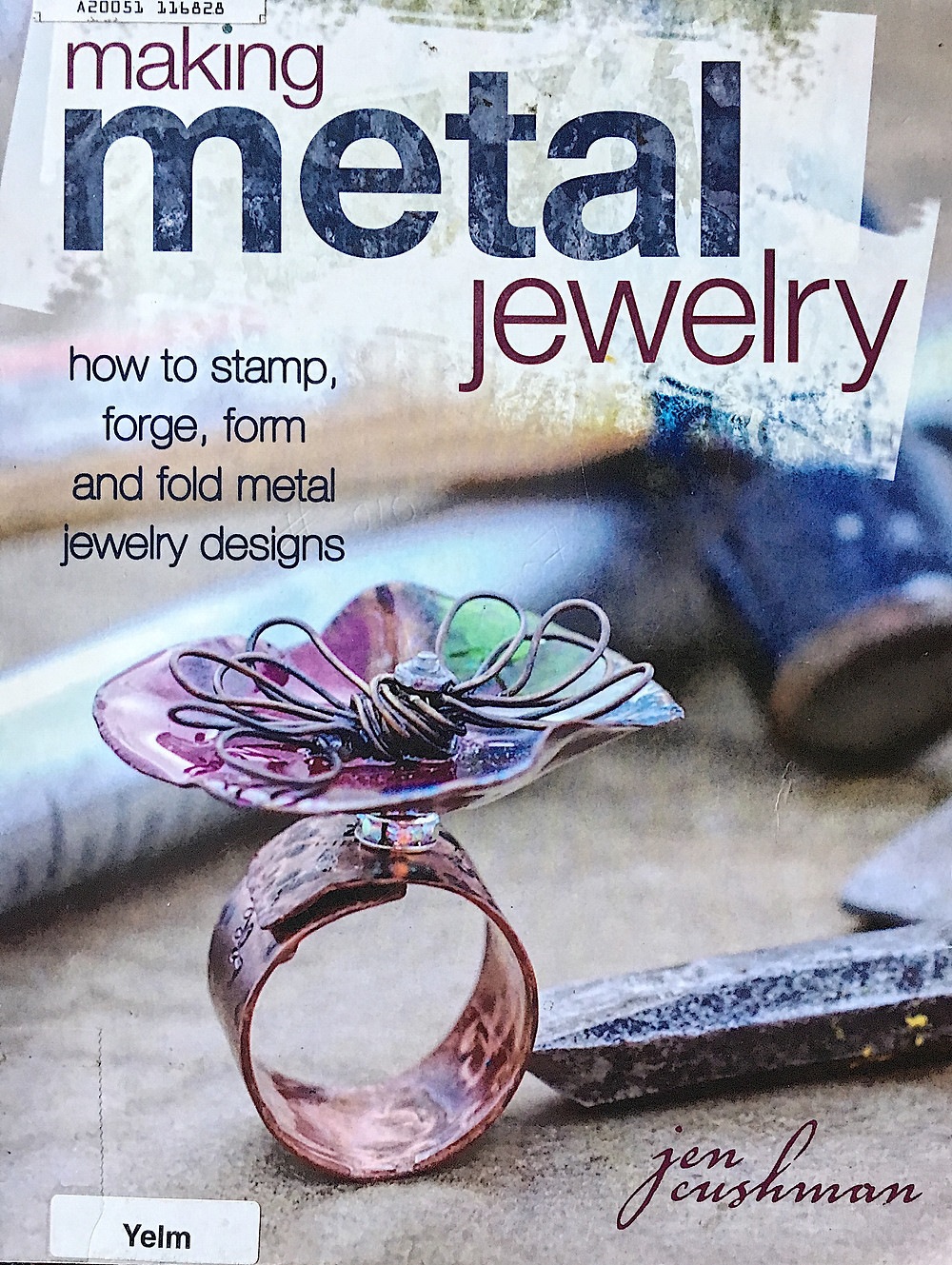 Book cover - Making Metal Jewelry