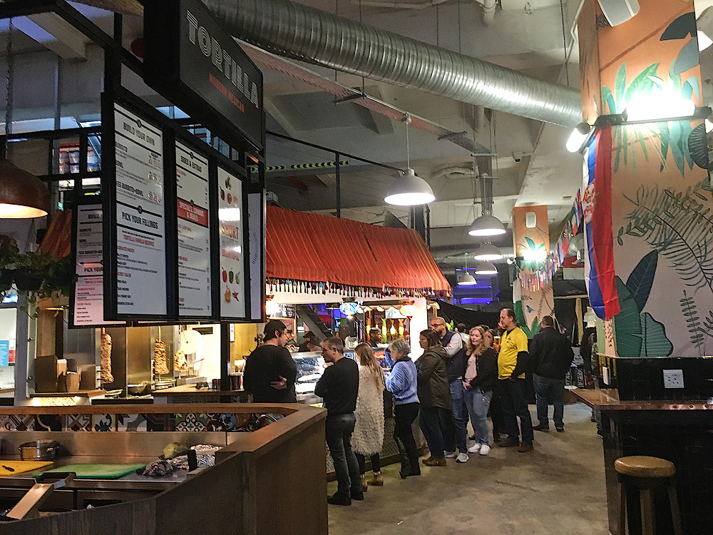 Mojo Market in Sea Point, Cape Town has all the cuisines you're ever need.
