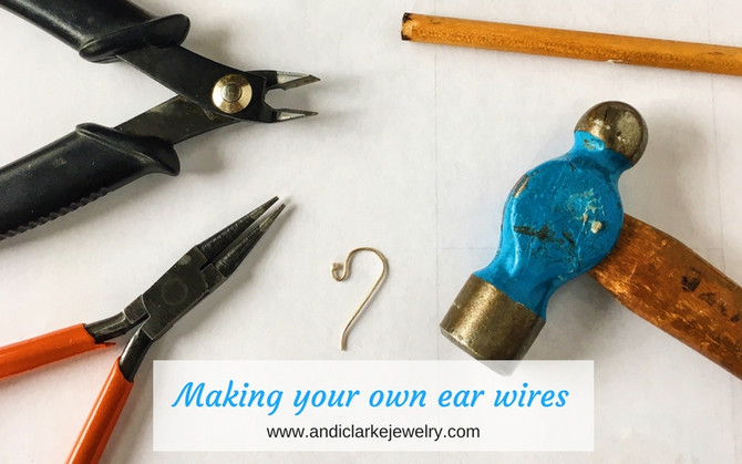 Making your own ear wires