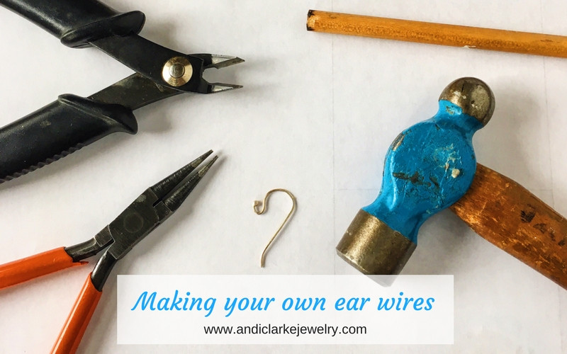 tools needed for making sterling earwires