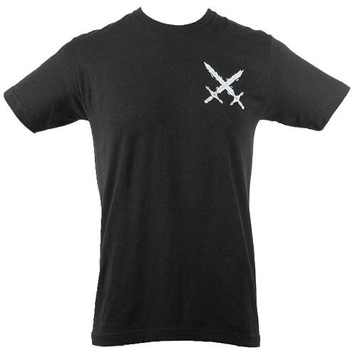 Shard Skull T-Shirt (Black) (FB)