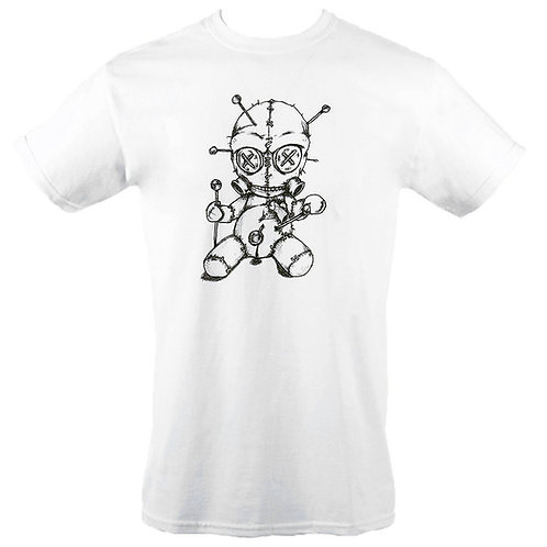 Ritual Voodoo Doll T-Shirt (White)