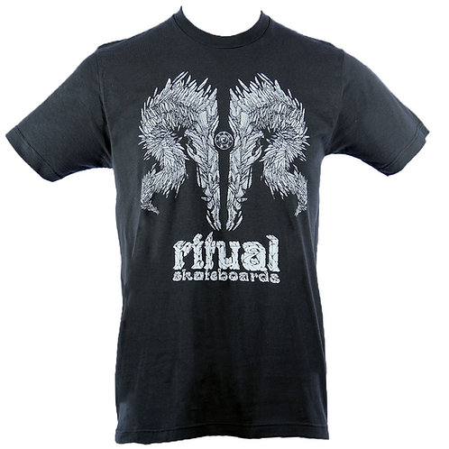 Shard Skull T-Shirt (Charcoal) (FF)