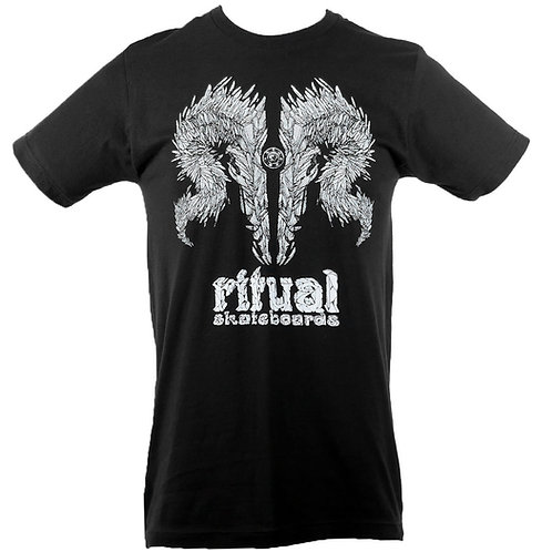Shard Skull T-Shirt (Black) (FF)