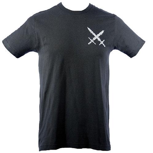 Shard Skull T-Shirt (Charcoal) (FB)