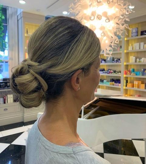 Wedding Hair at Mayfair & Grace