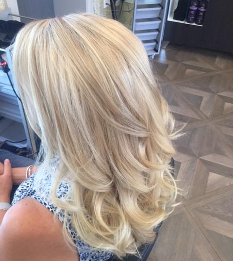 Stunning Blonde Highlights