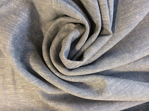 Plain Linen Viscose BLUE