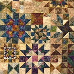Custom Quilt Made by Leslie