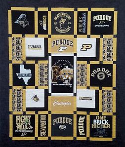 Texas A&M Custom Made T Shirt Quilt