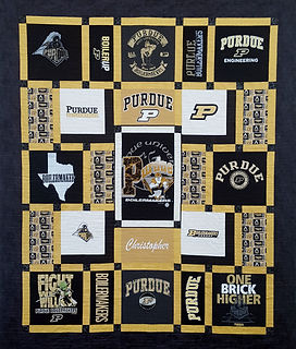 Texas A&M Custom Made T Shirt Quilt