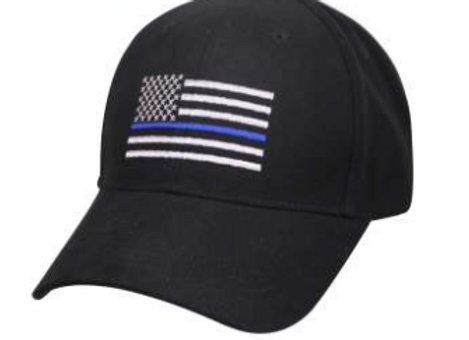 Thin Blue Line Flag Low Profile Cap