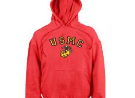 USMC Eagle, Globe & Anchor Pullover Hooded Sweatshirt 9222
