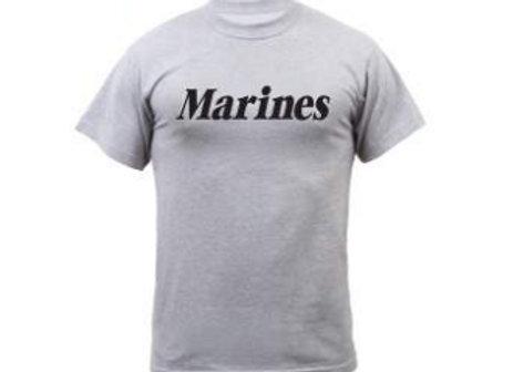 Marines Grey Physical Training T-Shirt 6032
