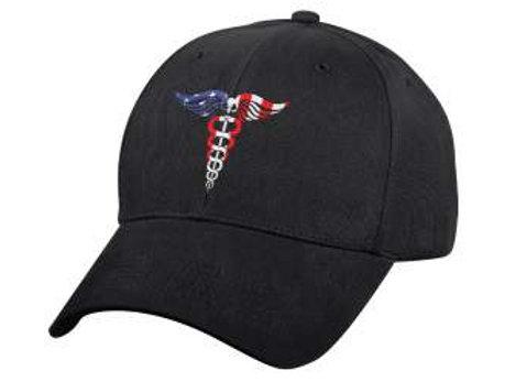 Medical Symbol (Caduceus) Low Profile Hat 3724