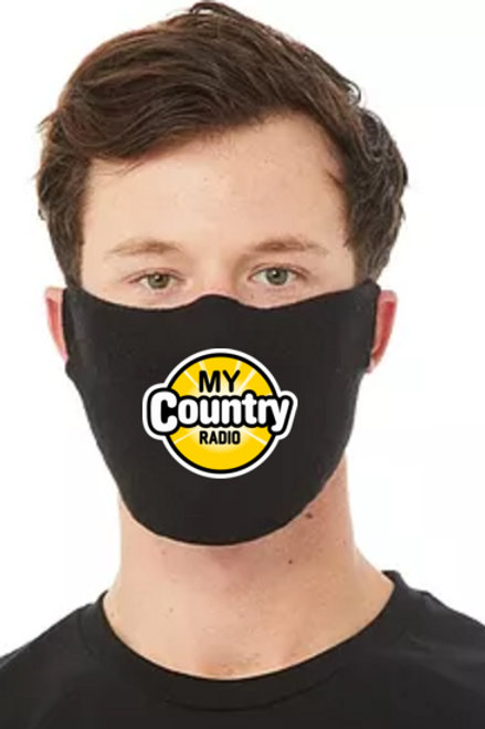 My Country Radio Face Mask