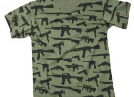 Vintage 'Guns' T-Shirt 66360