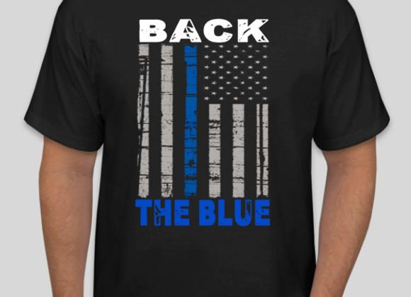 BACK THE BLUE March Design (F)