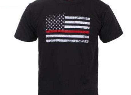 Kids Thin Red Line T-Shirt 6868