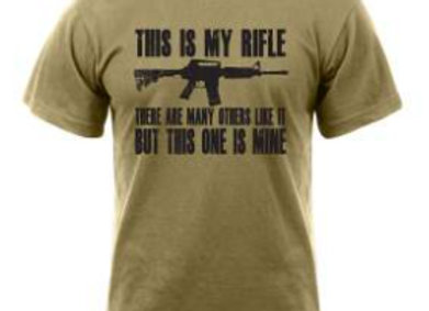 'This Is My Rifle' T-Shirt 61590