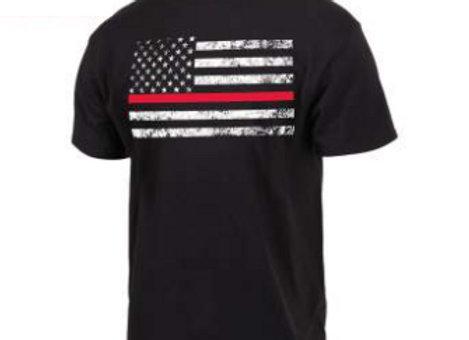 Thin Red Line Flag T-Shirt 9950