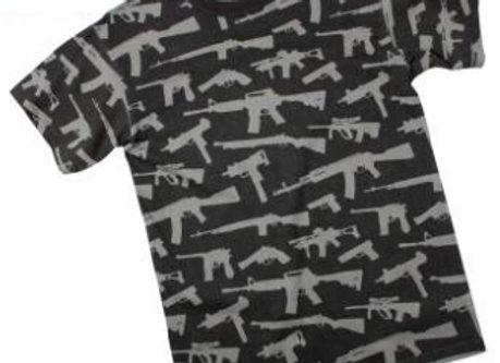 Vintage 'Guns' T-Shirt 66350