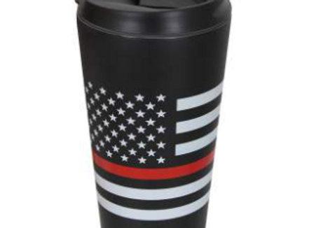 Thin Red Line Flag Travel Mug 1289