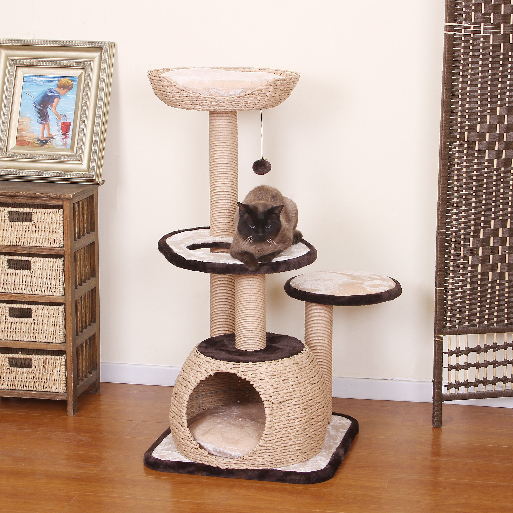 store special cat coffee sale tree cream by kittymansions nala edition white furniture