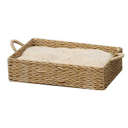 "PetPals Paper box bed - Paper Rope Pet Bed 18""X12""X4"""