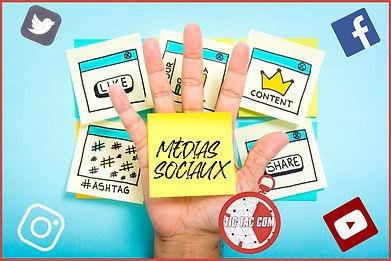 007 - Réseaux sociaux gestion - Tic Tac