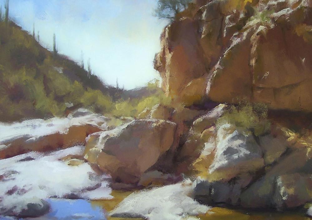 Tanque Verde Cliffs by Kurt Anderson
