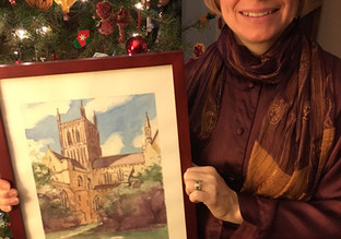 Christmas Watercolors