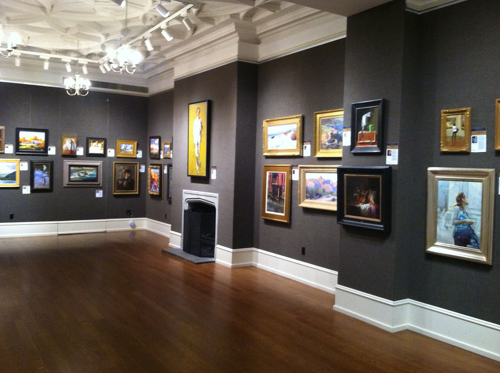 The New Gallery at the Salmagundi Club