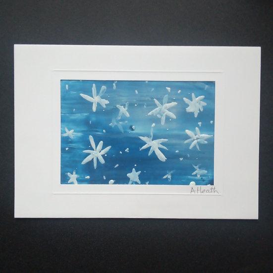 Encaustic Art Greeting Card
