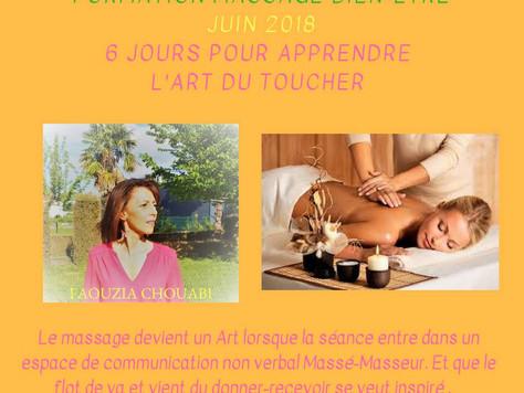 Formation Massage Bien-Être - 6 jours pour apprendre l'Art du Toucher