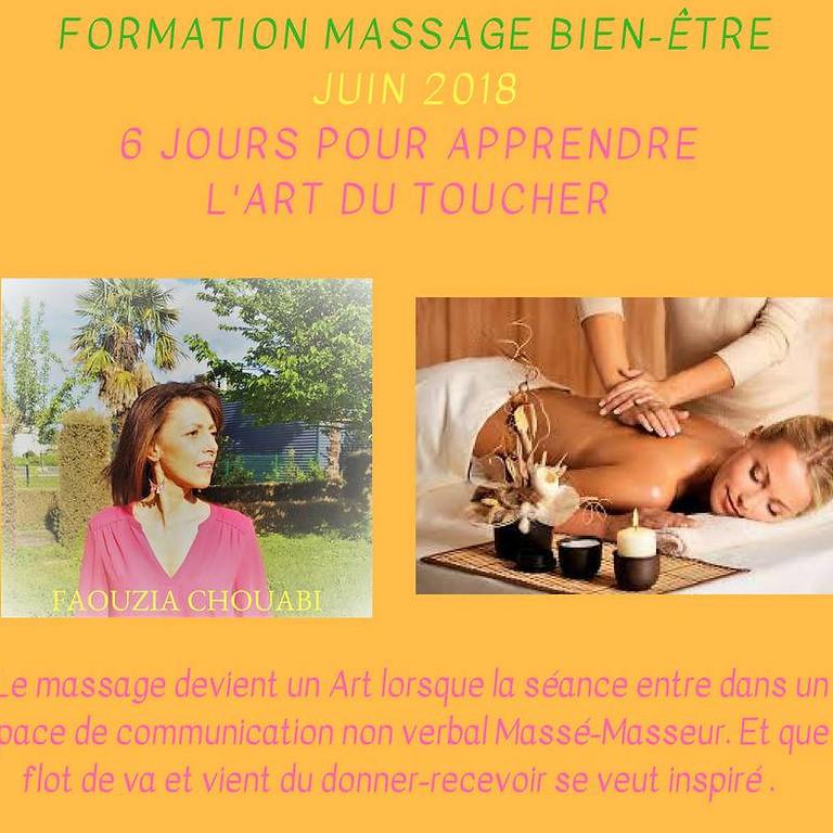 Formation Massage Bien-Être
