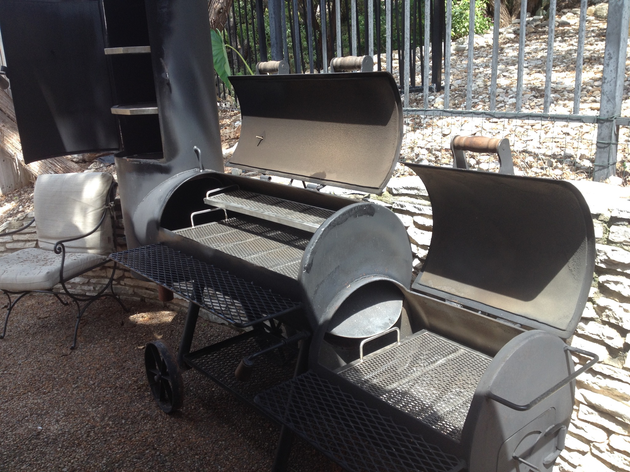 Custom Grates for Smokers