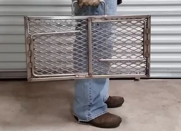Portable Barbecue Briefcase