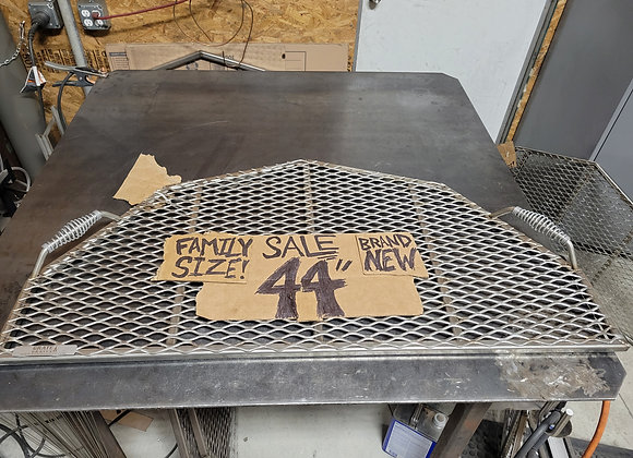 "44"" stainless steel half grate"