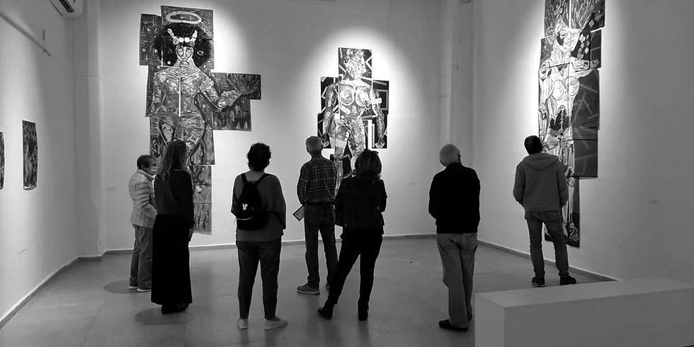 """""""אירוע נעילה בתערוכה """"מזרח פוגש מזרח: אמנות עכשווית מאוגנדה"""