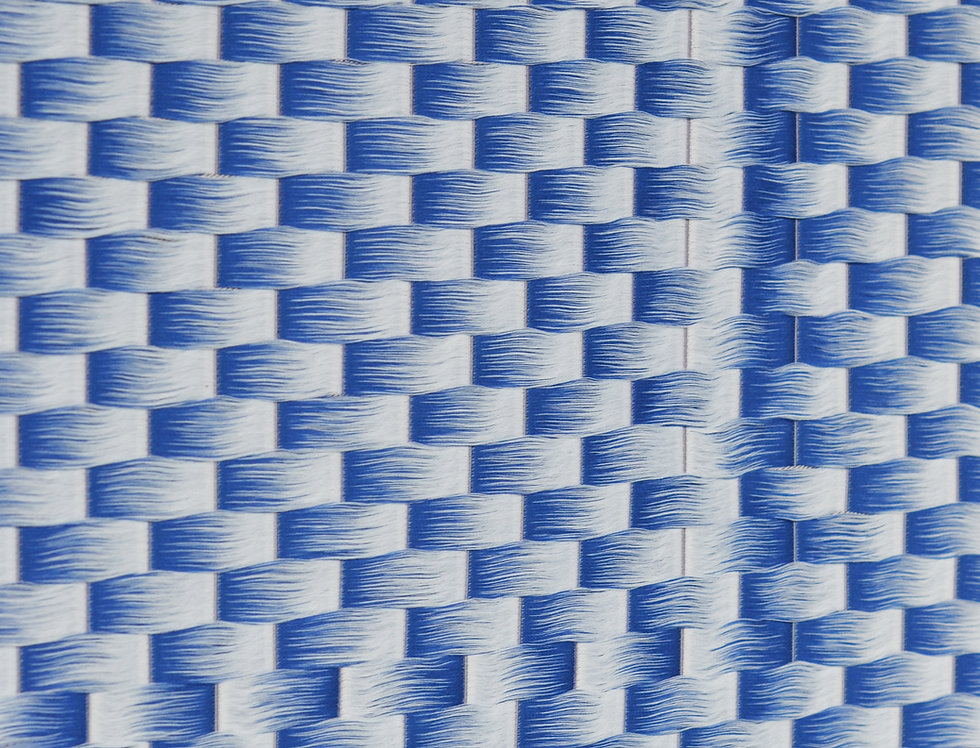 Fringes & Floats -Brick Blue