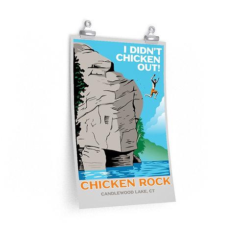 Chicken Rock Vintage Poster