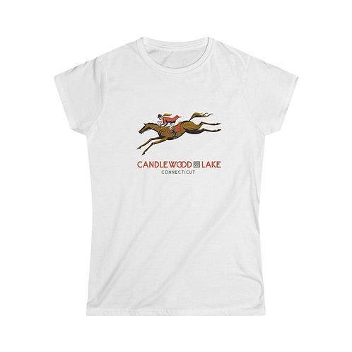 Horse Jump on Women's Softstyle Tee