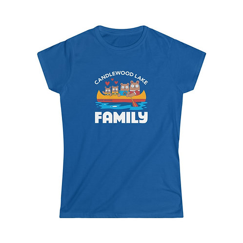 Candlewood Lake Family on Softstyle T