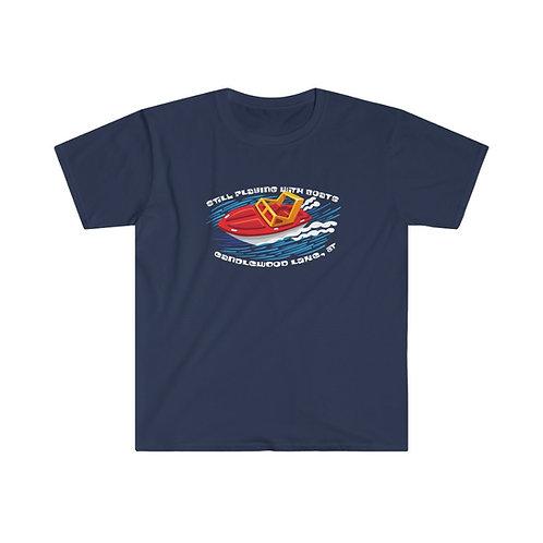 Speed Boat on Unisex Soft Style T