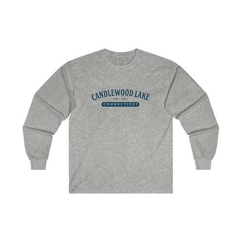 Grungy Athletic Arch Long Sleeve T