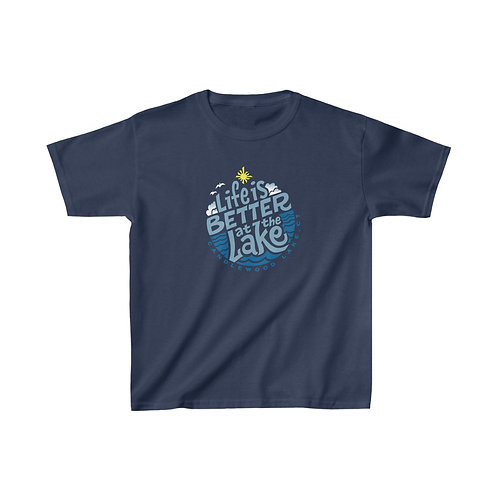 Life is Better circle on Kids T